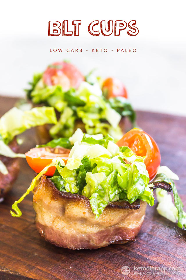 Quick & Easy Keto BLT Cups