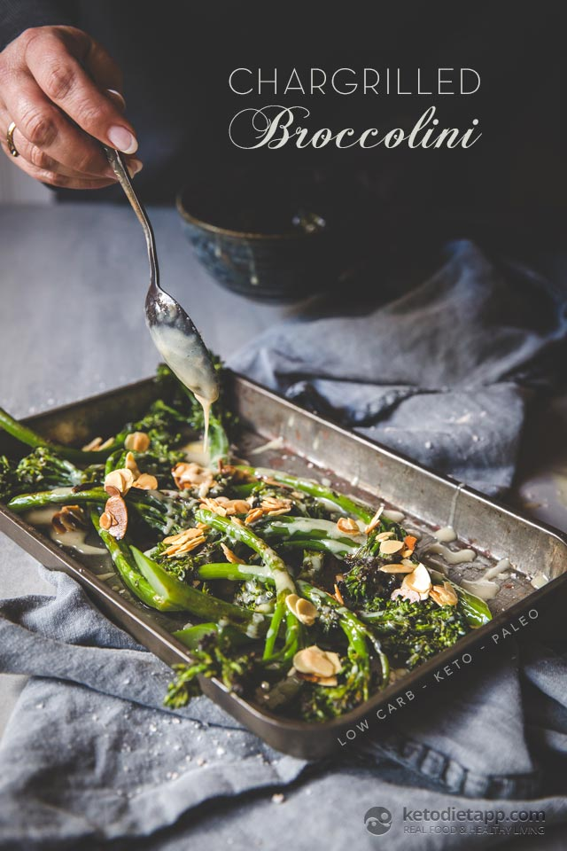Low-Carb Chargrilled Broccolini