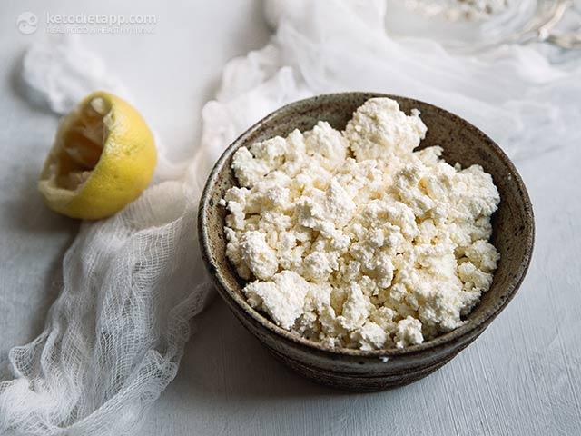 keto diet ricotta cheese