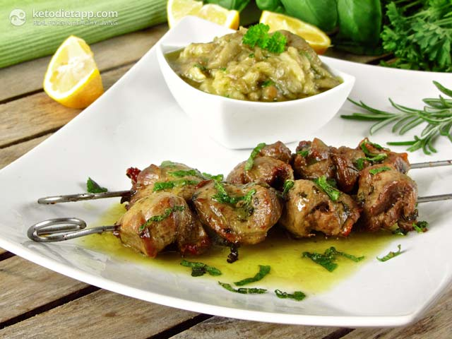 Lamb Souvlaki - Greek Lamb Skewers