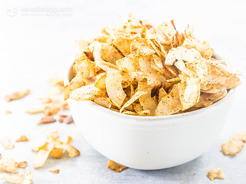 Keto Tandoori Coconut Chips