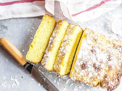 Easy Keto Pound Cake