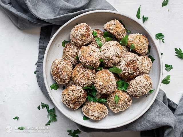 Low-Carb Italian Cauliflower Polpette