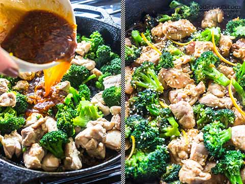 Low-Carb Orange Chicken