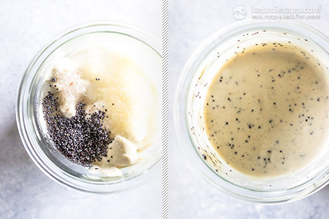 Healthy Poppy Seed Salad Dressing