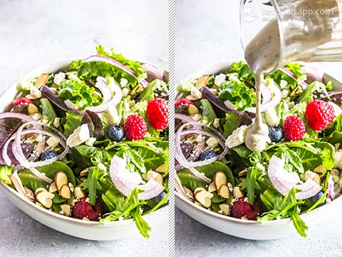 Easy Keto Berry Side Salad