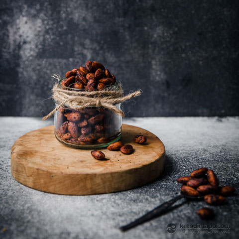 Healthy Chile-Lime Spiced Almonds