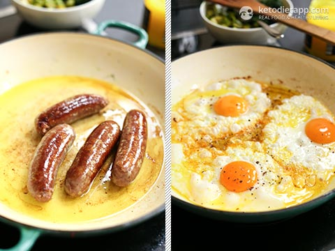 Keto Superfood All Day Breakfast Skillet