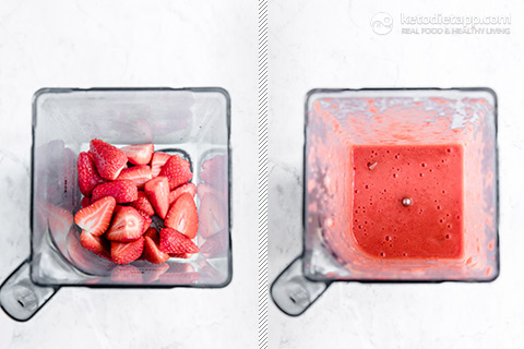Healthy Sugar-Free Strawberry & Lime Jellies