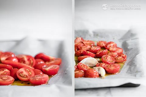 Healthy Zucchini, Prosciutto & Goat Cheese Bowl