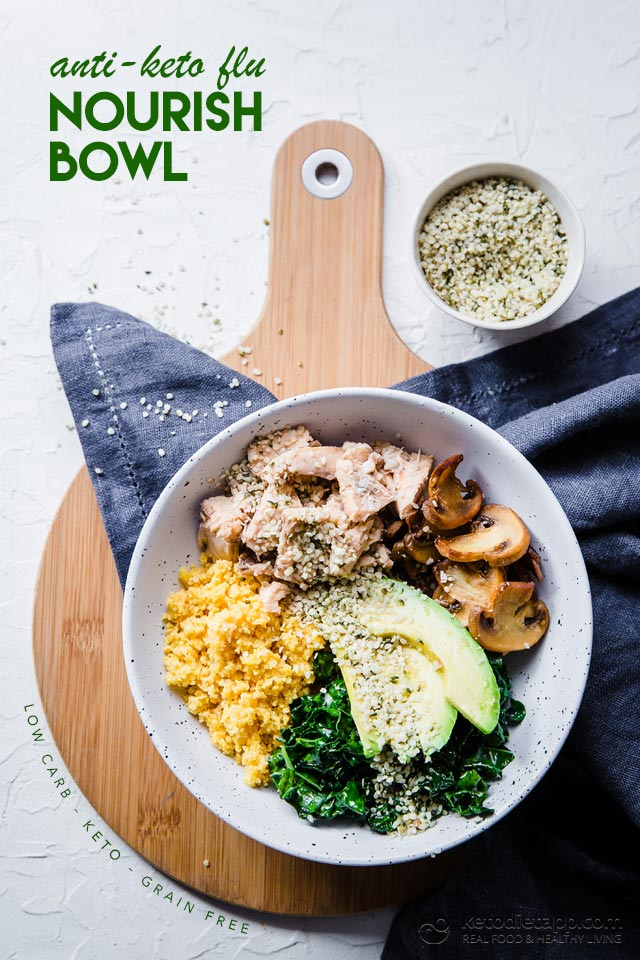 Anti Keto Flu Nourish Bowl