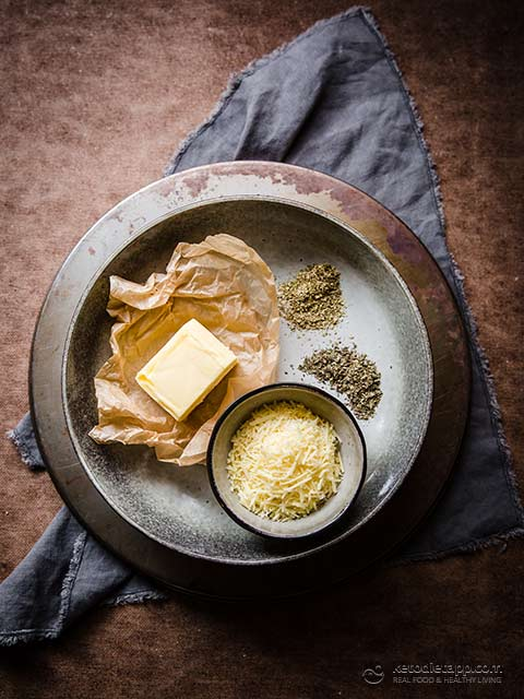 Easy Italian Herb Compound Butter
