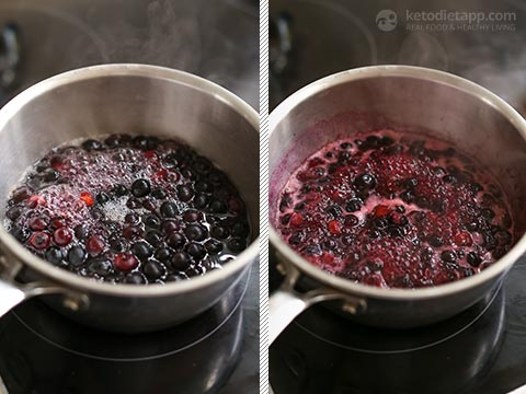 Keto Blueberry & Lemon Electrolyte Drink