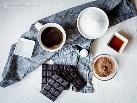 Keto Chocolate Espresso Sorbet