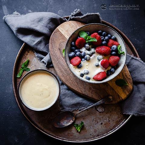 Low-Carb Crème Anglaise