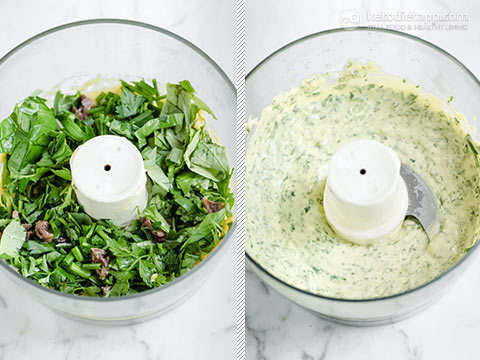 Keto Green Goddess Dressing