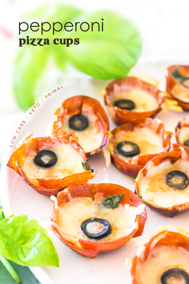 Keto Pepperoni Pizza Cups Ketodiet Blog