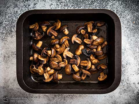 Low-Carb Smoky Roasted Mushrooms