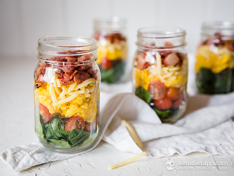 Quick-Prep Healthy Brunch Jars