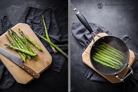 Easy Pork Chops With Asparagus and Hollandaise