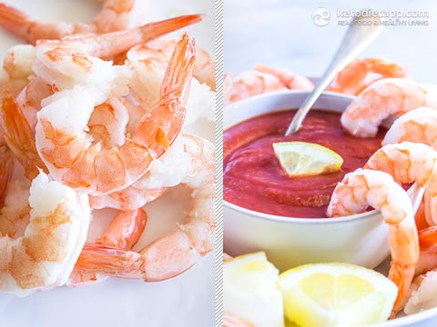 Low-Carb Shrimp Cocktail with Horseradish