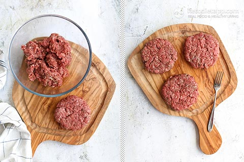 The Best Keto Cheeseburger