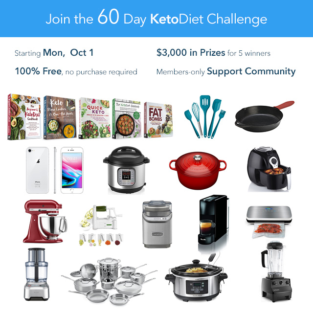 60-Day October-November KetoDiet Challenge 2018