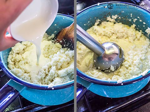 Low-Carb Breakfast Grits