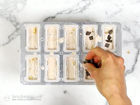 Low-Carb Cookie Dough Popsicles