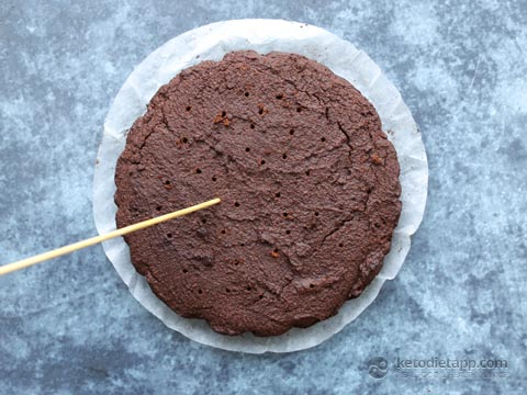 Low-Carb Black Forest Chocolate Cake