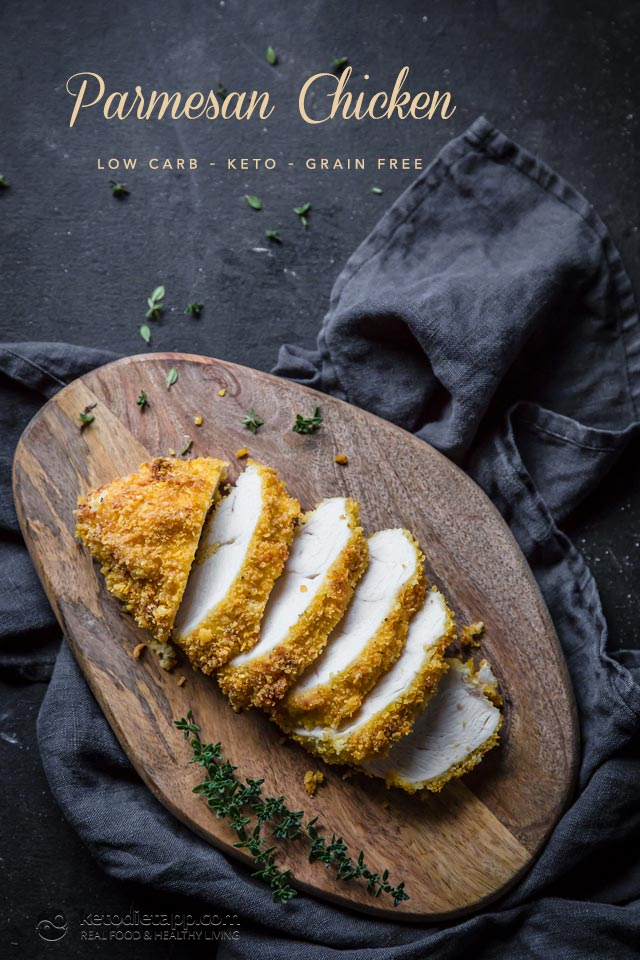 Low-Carb Parmesan Chicken