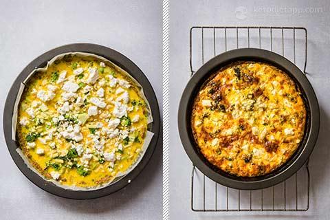 Low-Carb Broccoli Cheese Quiche