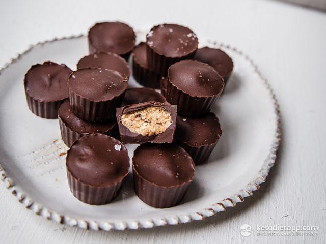 "Keto ""Peanut"" Butter Chocolate Cups"