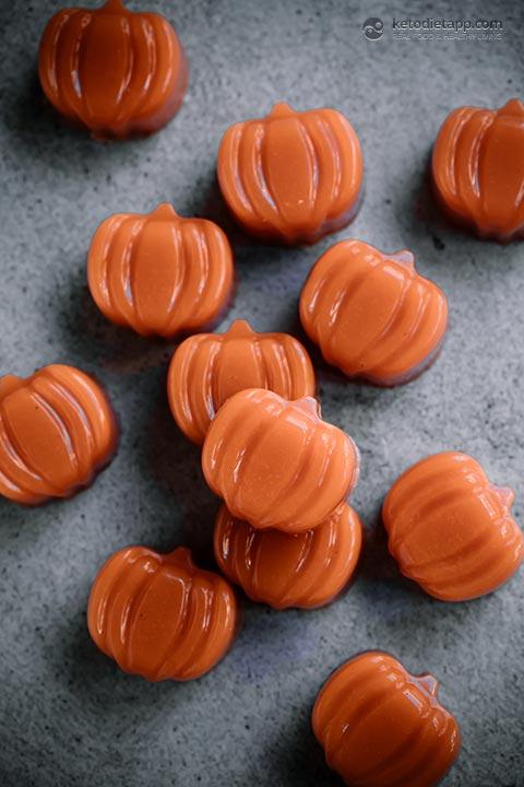 Spooky Halloween Spiced Carrot Jellies
