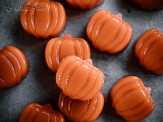 Spooky Halloween Spiced Carrot Jellies