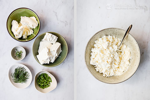 Easy Herbed Goat's Cheese Dip