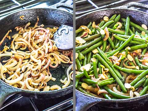 Healthy Low-Carb Almond Green Beans