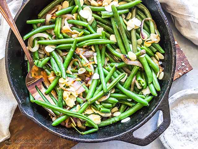 Easy Low-Carb Almond Green Beans