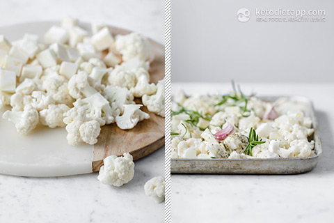 """Roast """"Notatoes"""" with Garlic and Feta"""