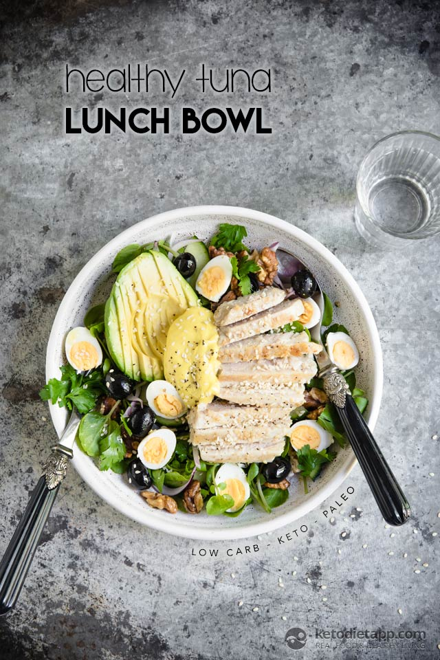 Speedy Low-Carb Tuna Lunch Bowl