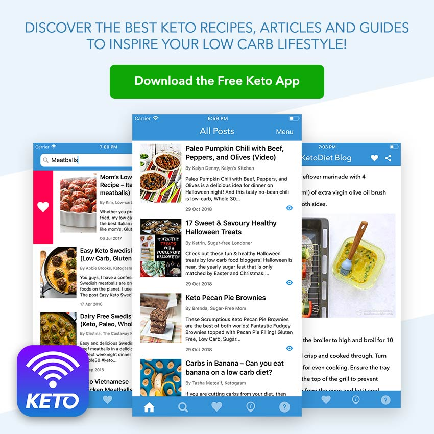 Announcing the New Free Keto App! | KetoDiet Blog