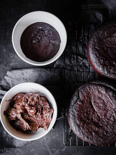 Low-Carb Chocolate Hazelnut Celebration Cake