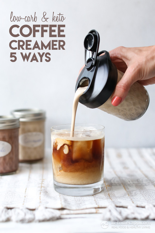 Low-Carb & Keto Coffee Creamer Five Ways | KetoDiet Blog