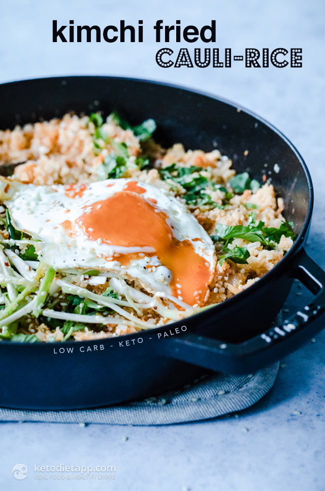 Low-Carb Kimchi Fried Cauli-Rice