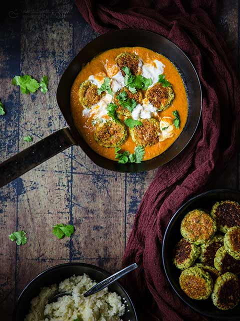Low-Carb Vegetarian Kofta Balls