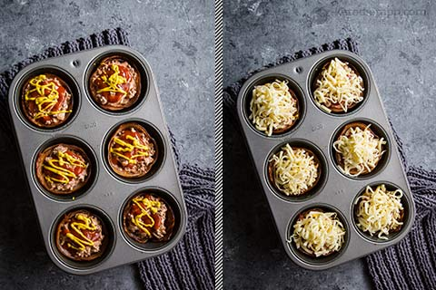 Keto Bacon Cheeseburger Cups