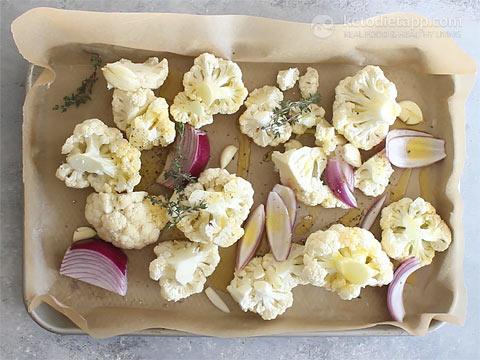 Roasted Keto Cauliflower Mash