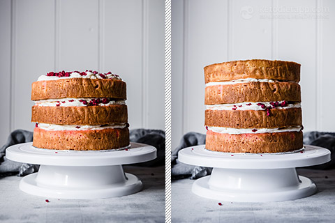 Low-Carb Ombre Berry Celebration Cake