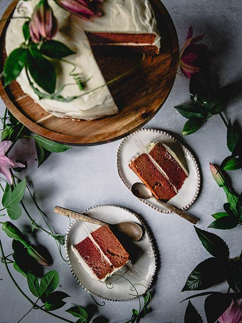 Low-Carb Red Velvet Cake