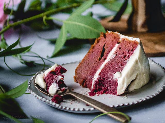 Low-Carb Red Velvet Cake